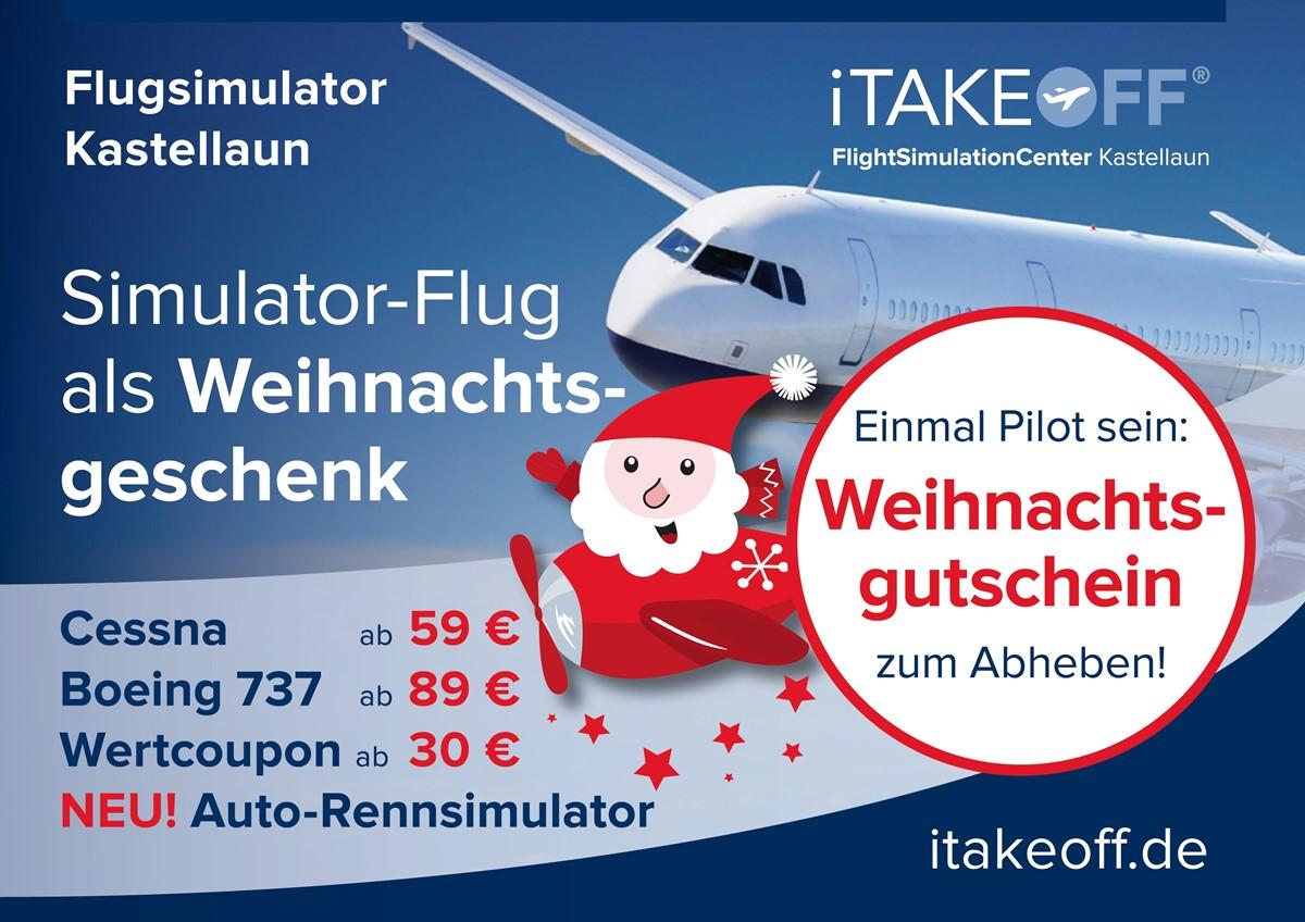 Flugsimulator im Hunsrück — iTAKEOFF Flugsimulation